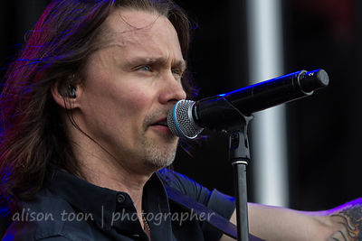 Myles Kennedy, vocals and guitar, Alter Bridge