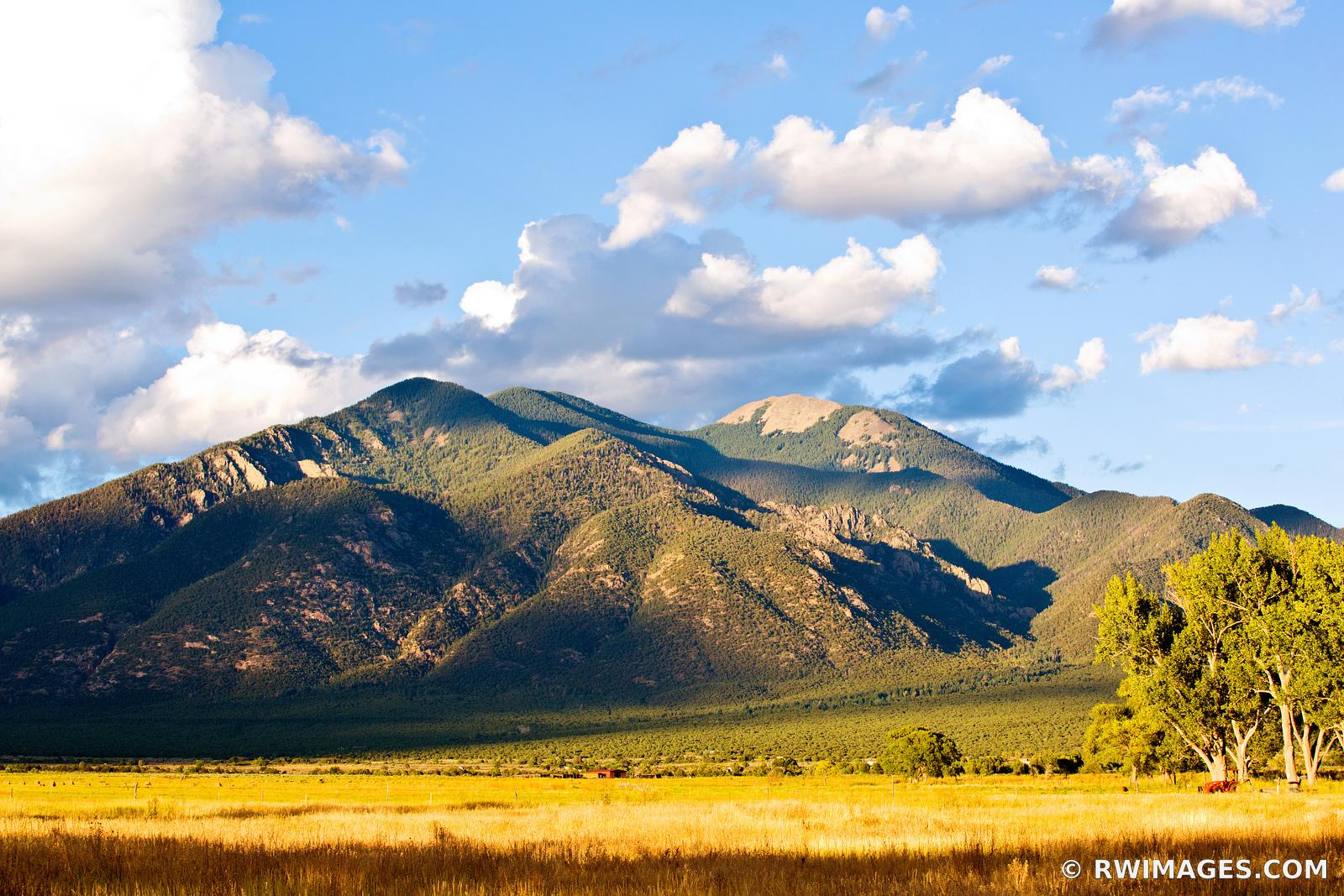TAOS MOUNTAIN TAOS NEW MEXICO LANDSCAPE