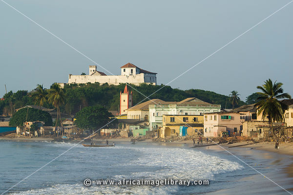 Fort St. Jago, built in the 1660's, Elmina, Ghana