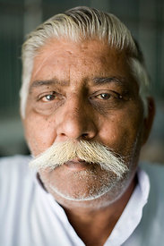 Veer Singh, 55 who has cataracts