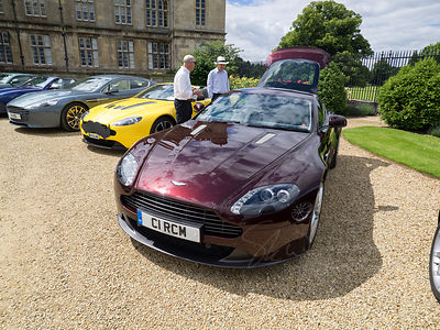 The Burghley House Aston Martin Gathering (3rd July 2016)