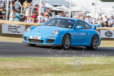 Porsche GT3 (3.8-litre flat-6, 2006) - Celebrating 50 years of the Porsche 911 at Goodwood Festival of Speed 2013