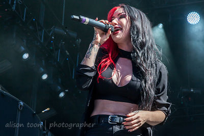 Ash Costello, vocals, New Years Day