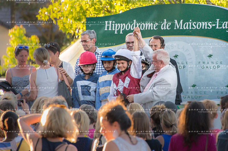 podium course de poneys