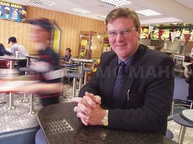 Pat McDonagh of Supermac's restraunts..Pat McDonagh of Supermac's restraunts..Photograph by Aengus McMahon
