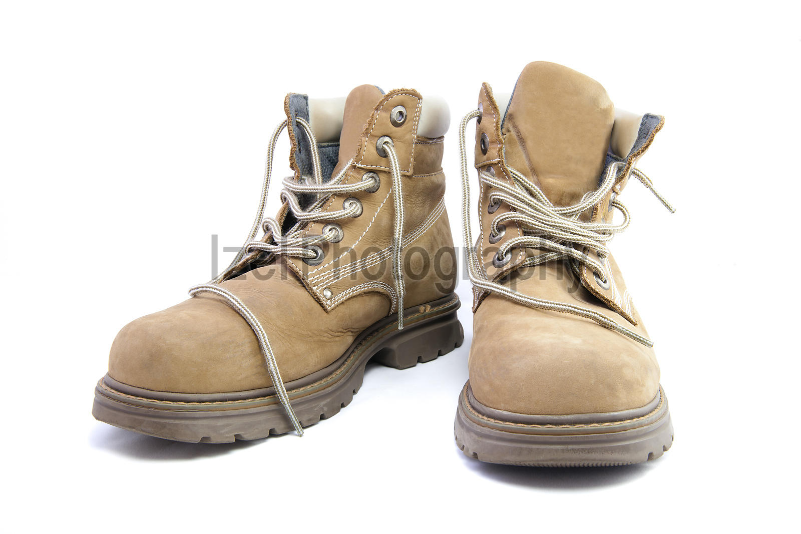 Work Boots - Stock Images