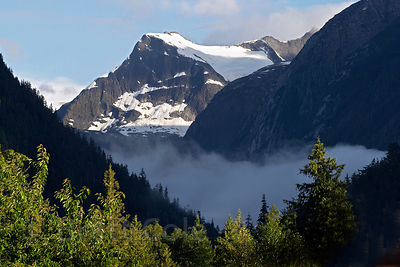 Unknown peak in the Bella Coola Valley,  Great Bear Rainforest, Nuxalk Territory, British Columbia