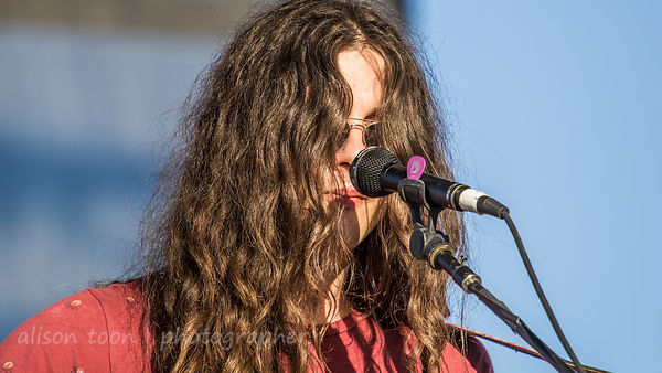 SACRAMENTO, 5TH OCTOBER 2014: Kurt Vile, guitar and vocals, Kurt Vile and the Violators, performing at TBD Fest, West Sacrame...