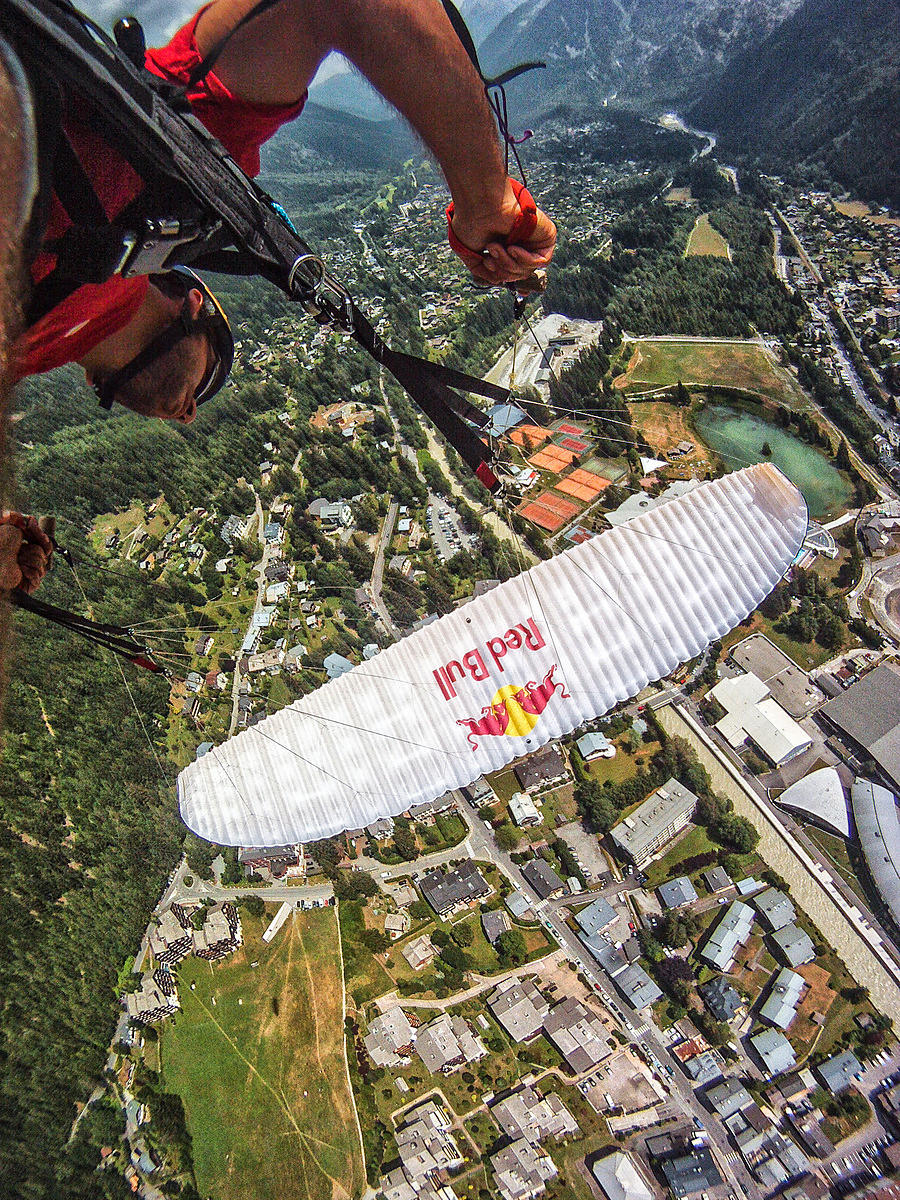 Infinity Tumbling above Chamonix with Antoine Montant