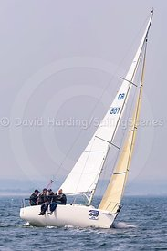 Jac Y Do, GBR607, J/80, Poole Regatta 2018, 20180526349