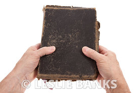 Hands Holding Bible