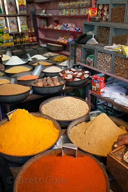 Chilis and other spices for sale in Jodhpur, Rajasthan, India