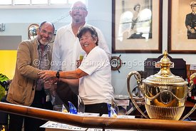 Prize-giving at Weymouth Regatta 2018, 20180909001.