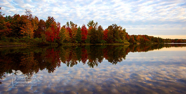 Fall in the Presque Isle Marina