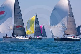 Flair V, Elan 410 & Phantom, Dehler 39 SQ, Poole Regatta 2018, 20180527589