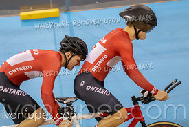 Para Tandem Men Kilo Time Trial. Canadian Track Championships (Jr, U17, Para), April 14, 2019