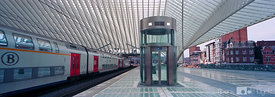 Train station Liege-Guillemins