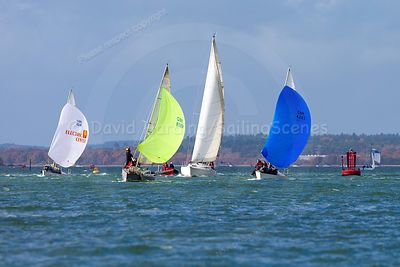 POOLE YC COMMODORE'S CHARITY PURSUIT RACE 2018