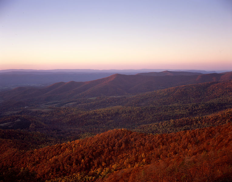006-Blue_Ridge_D105084_Sunset_Mountain_Scene_-_Preview