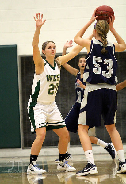 The #1 ranked Iowa City West varsity girls basketball team defeated visiting Cedar Rapids Xavier 52-37 on Thursday, January 2...
