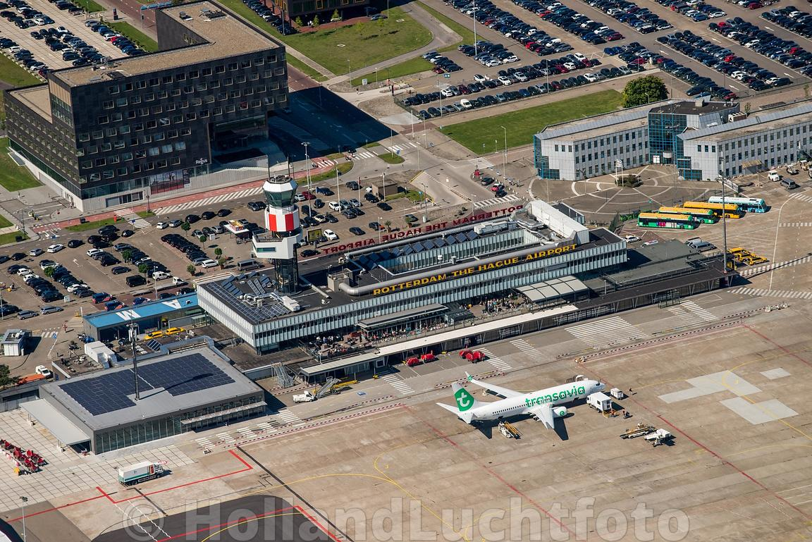 Rotterdam - Luchtfoto The Hague Airport