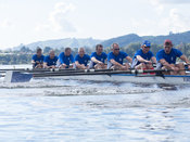 Taken during the World Masters Games - Rowing, Lake Karapiro, Cambridge, New Zealand; ©  Rob Bristow; Frame 475 - Taken on: T...