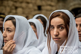 Persecuted Minority Group Yazidis Celebrate Sere Sal In April Every Year. These Women Are Survivors Of The Genocide Perpetrat...