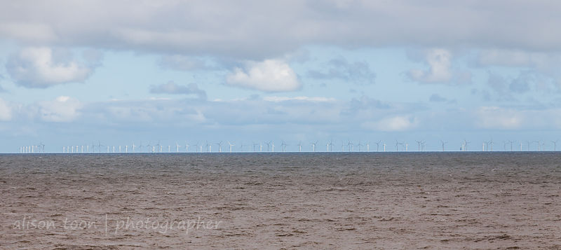 Wind farm off Sheringham