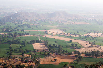 Bucolic farmland near Nand village, Rajasthan, India