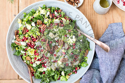 Brussels Sprout kale Salad