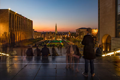 Mont des Arts, October 2018