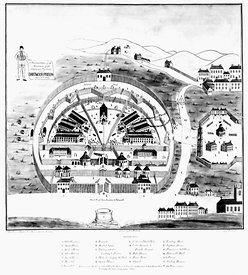 Dartmoor Prison during War of 1812