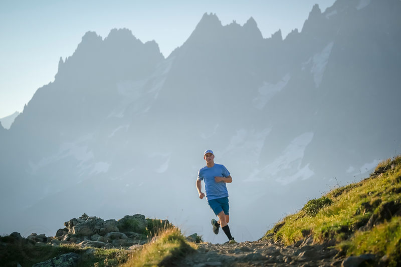 Trail running with Arthur Tillier