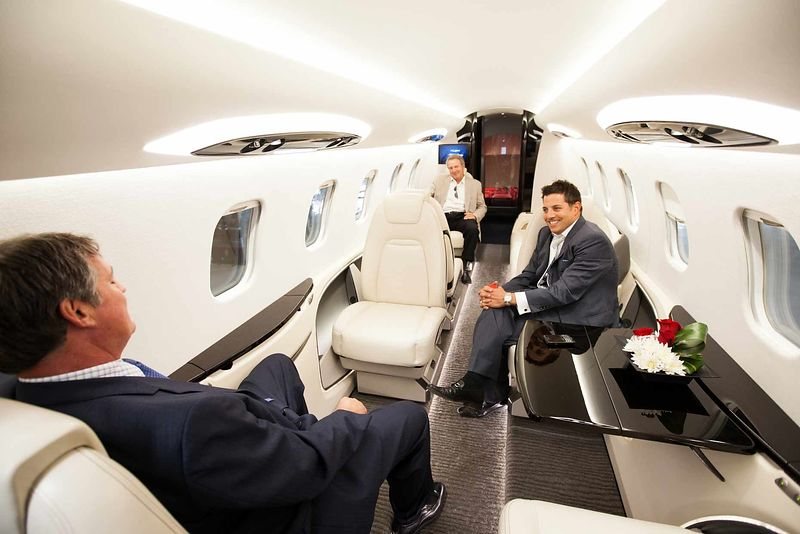 Private jet travel lifestyle shoot for Flexjet by commercial photographer Jason Tinacci