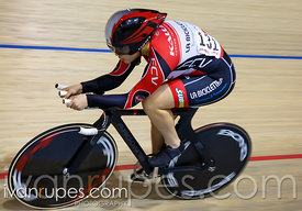 U17 Women Individual Pursuit, Ontario Track Championships, Day 1, April 10, 2015