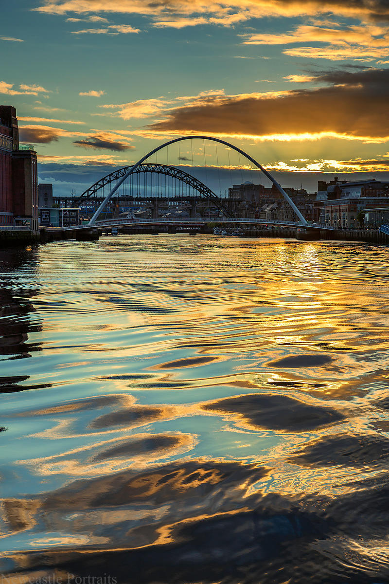 Ripples on the Tyne
