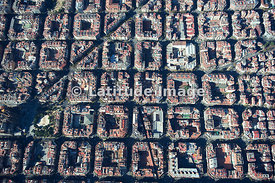 The Eixample District, Barcelona