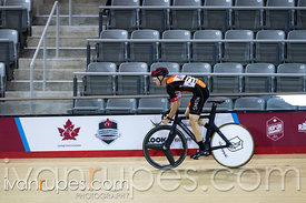 Master B Sprint Qualification.  2015 Canadian Track Championships, October 8, 2015