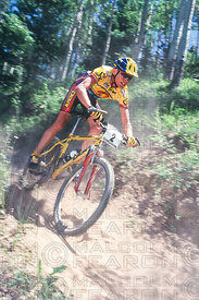 CADEL EVANS VAIL, COLORADO, USA. GRUNDIG WORLD CUP 1997