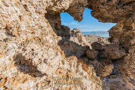 Tufa Window, Mono Lake, CA, USA