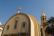 The Coptic Orthodox cathedral dedicated to St. Mark, Alexandria, Egypt