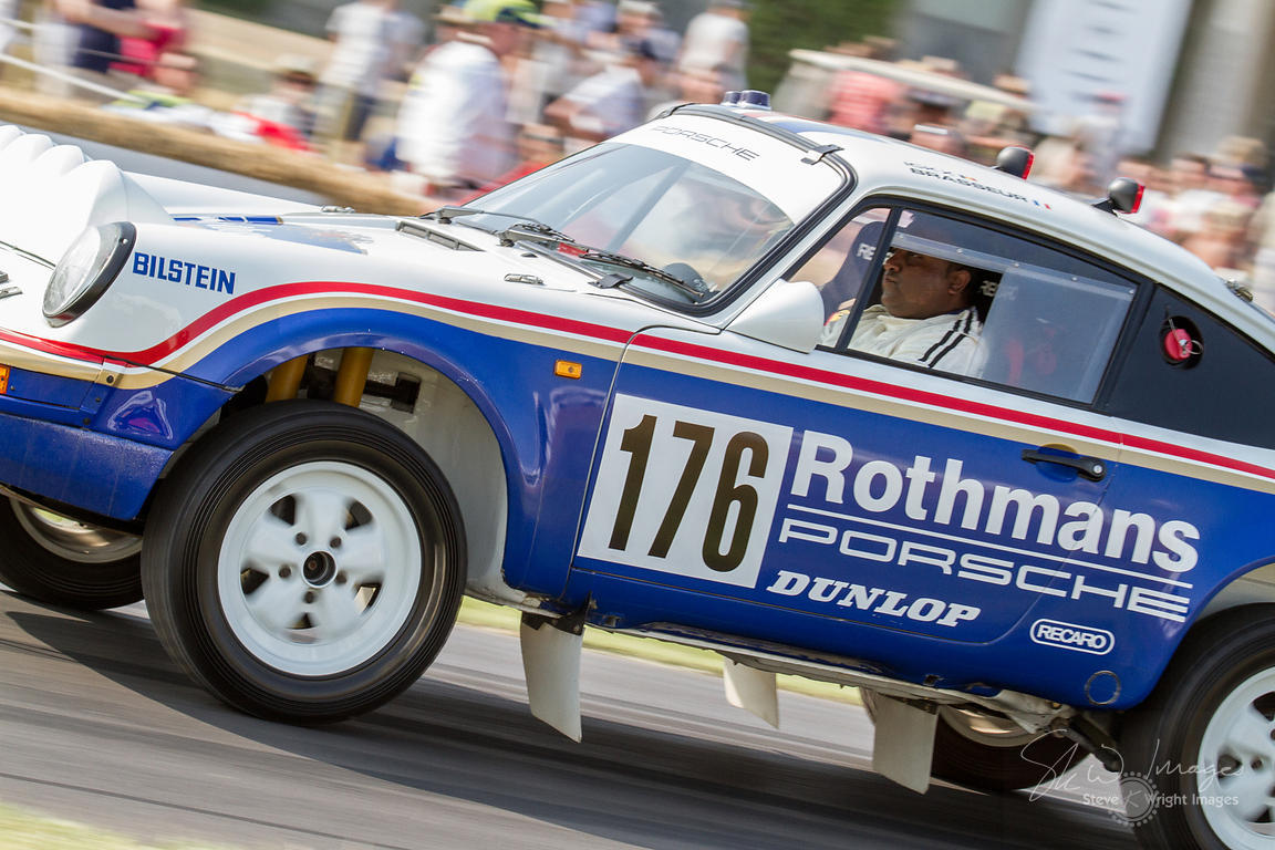 Porsche 911SC 'Paris-Dakar' (3.2-litre flat-6, 1984), winner of the 1984 Paris-Dakar Rally - Goodwood Festival of Speed 2013