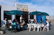 Coffee shop at the waterfront, Lambert's Bay, Western Cape, South Africa