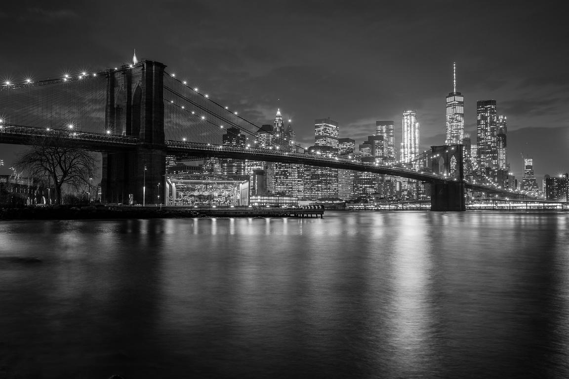 Brooklyn Bridge No.5   2017   Photographer Neil Emmerson  £975 inc uk vat:  Edition of 25.