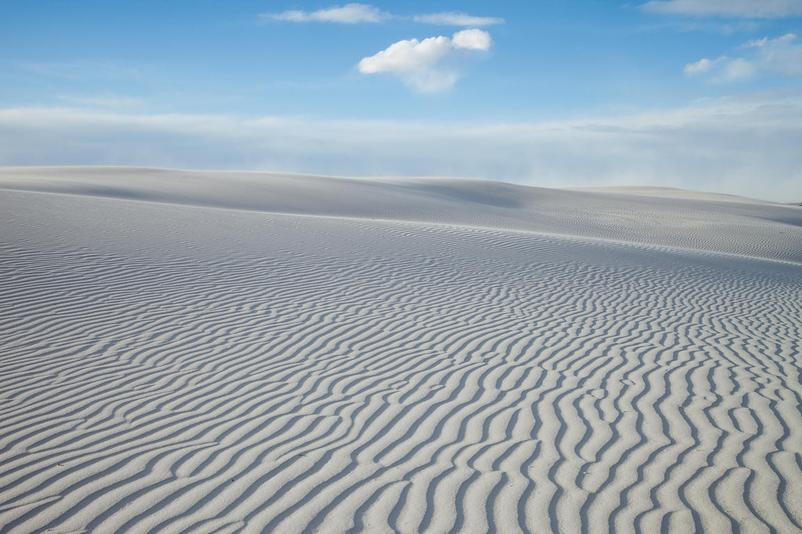 Clouds Over White Sands