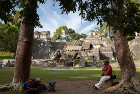 Gran Plaza, North Acropolis, Tikal
