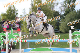 KÖHLER Lisa (GER) and CLAUS 49 during LAKE ARENA - The Summer Circuit II, CSI2*, GOOD BYE COMP, 140 cm, 2017 August 27 - Wien...