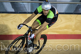 Master B Men Sprint Qualification. Ontario Track Provincial Championships, March 5, 2016
