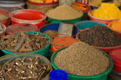 Spices for sale at MacKinnon Market, Old Town, Mombasa, Kenya