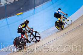Women Sprint 1-2 Final. Canadian Track Championships, Mattamy National Cycling Centre, Milton, On, September 25, 2016